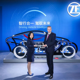 ZF Drives Vehicle Intelligence with ProAI Supercomputer