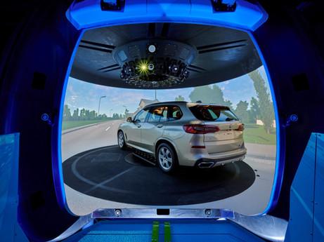 Das neue Fahrsimulationszentrum der BMW Group.
