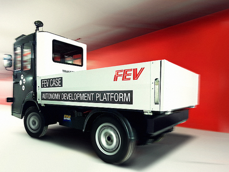 FEV in Turkey, develop Level 4 Automated driving functions for Electric Utility Vehicle by Tragger