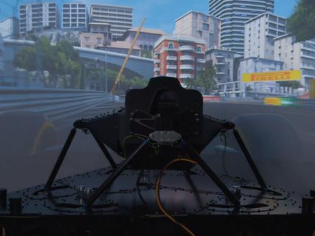 New Simulator for Scuderia Ferrari
