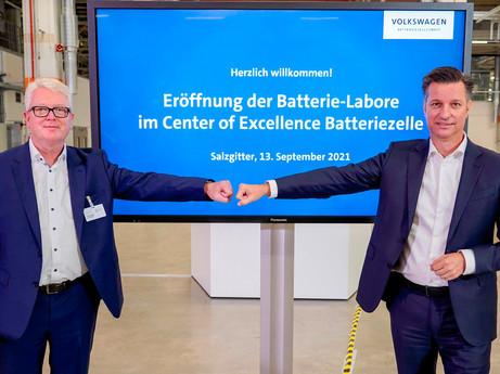 Volkswagen macht den nächsten Schritt zur Entwicklung eigener Batteriezellen