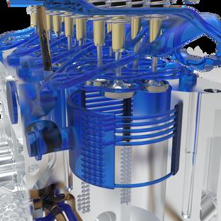 "FEV ""LeiMot"" efficiency boosting lightweight engine, that reduces emissions."