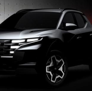 Hyundai da a conocer un boceto del Santa Cruz, vehículo que rompe todos los moldes en el segmento