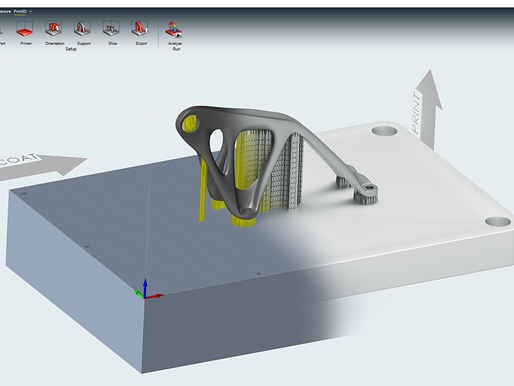 New Design and Simulation Solution for Additive Manufacturing