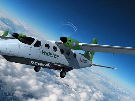 Rolls-Royce & Tecnam collaborate with Widerøe to deliver an all-electric commuter aircraft by 2026