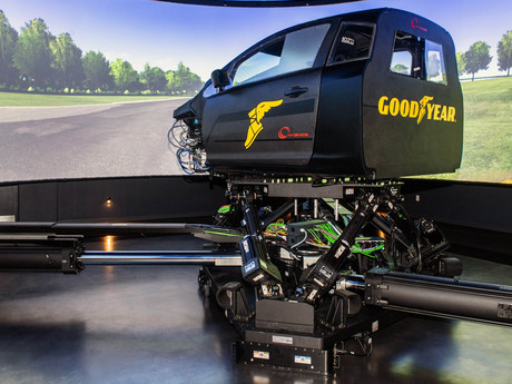 Dynamic Simulator set to be installed at Goodyear's European Innovation Centre