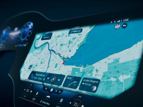 Mercedes-Benz präsentiert den MBUX Hyperscreen