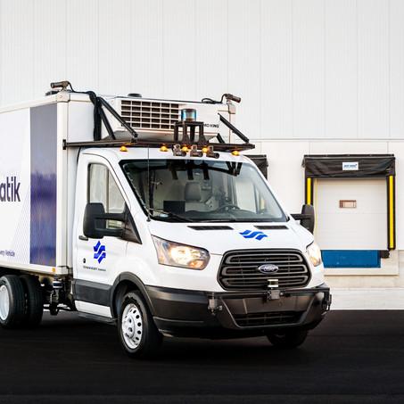 Gatik ha establecido la primera red autónoma de transporte de milla media de América del Norte