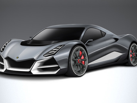 Swiss Hypercar mixing stunning performance and sustainable technology