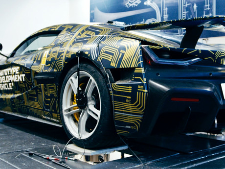 Rimac C_Two - mini-documentary of its suspension system in fine-tuning.