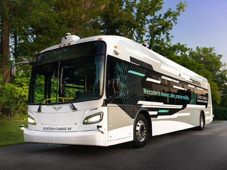 North America's First Automated Heavy-Duty Transit Bus