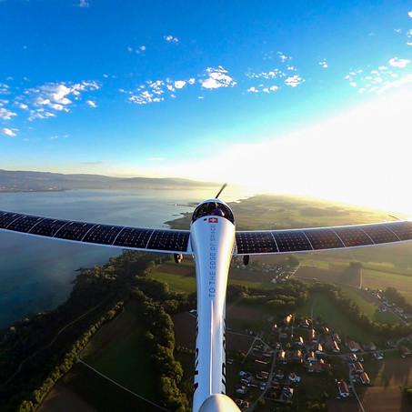 La estratosfera un avión '0 emisiones' impulsado 100% por energía solar
