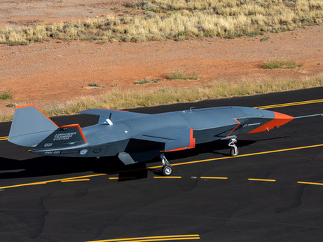 Boeing and Royal Australian Air Force completed first test flight of Loyal Wingman uncrewed aircraft