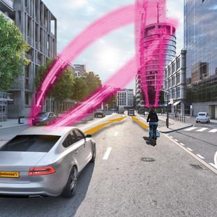 Continental & Deutsche Telekom develop a collision warning system