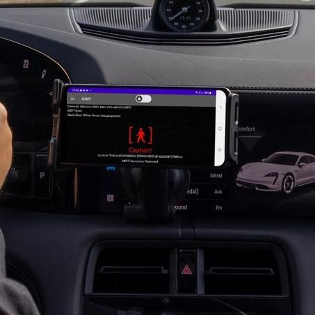 HERE, Vodafone y Porsche se asocian para desarrollar un sistema de alerta en tiempo real