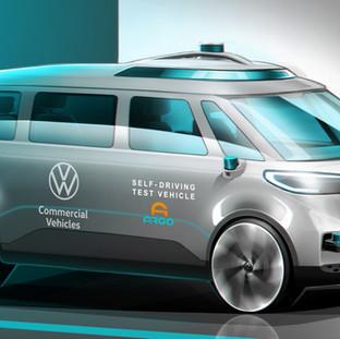 Volkswagen Nutzfahrzeuge - autonomer Systeme für Mobility as a Service voran