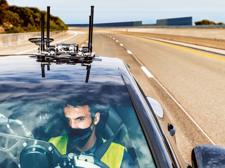 Self-driving Porsche's being Tested at, Nardò, Italy