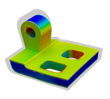 Metal binder jetting simulation, enabling users to predict and prevent distortion