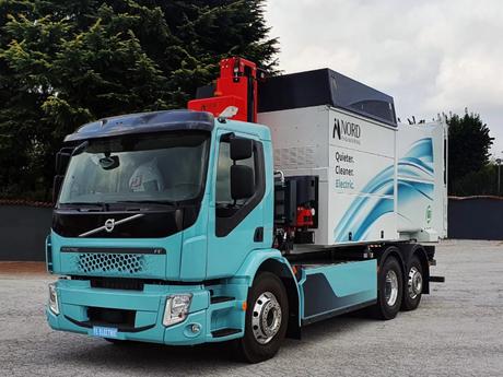 Nord Engineering realizzare il suo primo veicolo elettrico per la raccolta differenziata dei rifiuti
