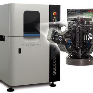 CyberOptics适用于AOI, SPI & CMM的SQ3000™多功能系统荣获EM创新奖