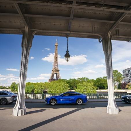 Toyota Mirai bate el récord mundial al superar los 1.000 km con un depósito de hidrógeno