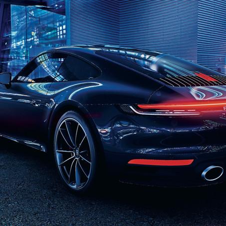 Porsche Engineering usa software de videojuegos para desarrollar el auto inteligente del futuro