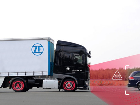 ZF Launches its Most Advanced Autonomous Emergency Braking System for Commercial Vehicles