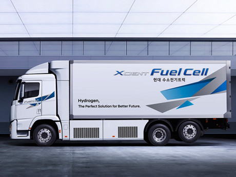 Hyundai Motor Upgrades Design and Performance of XCIENT Fuel Cell Truck