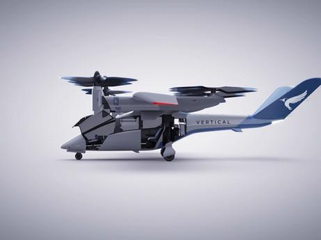 Rolls-Royce liefert Antrieb für vollelektrisches Flugzeug von Vertical Aerospace