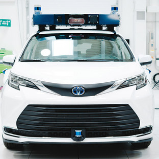 Toyota Sienna, utilizing Aurora Driver for ride-hailing networks.