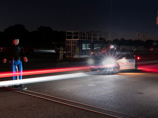 How Testing and Thermal Imaging can improve Automatic Emergency Braking systems.
