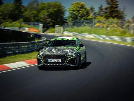 Rundenrekord auf der Nordschleife:Audi RS 3 Schnellster in der Kompaktklasse