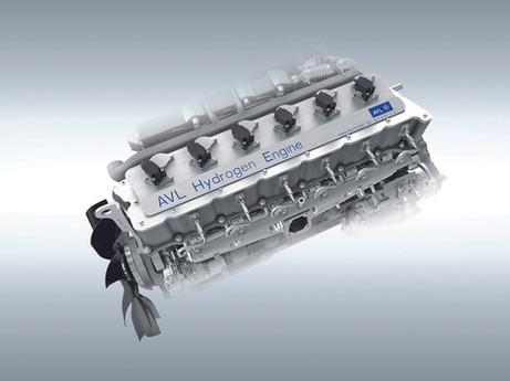 AVL - Wasserstoff-Verbrennungsmotoren bringen den CO2-neutralen Transport voran