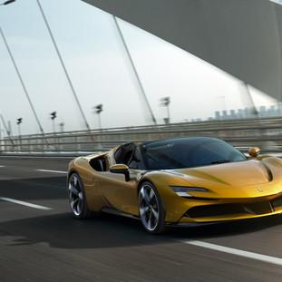 Ferrari, SF90 Spider, digital unveil direct from Maranello