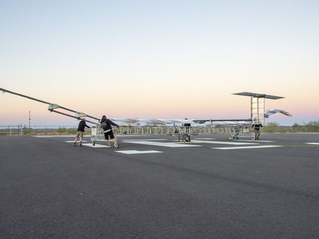 Airbus completes new test flight for its Zephyr Platform.