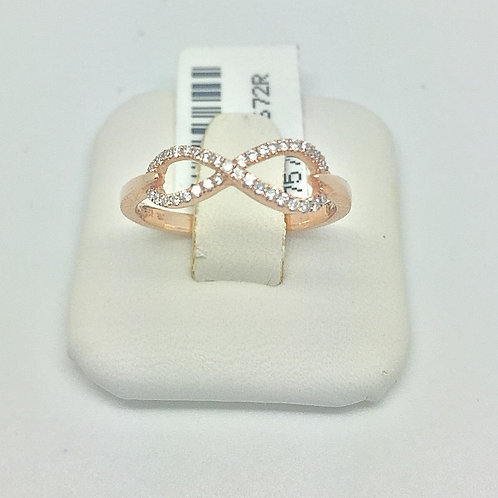 Designer Diamond Rose Gold Ring