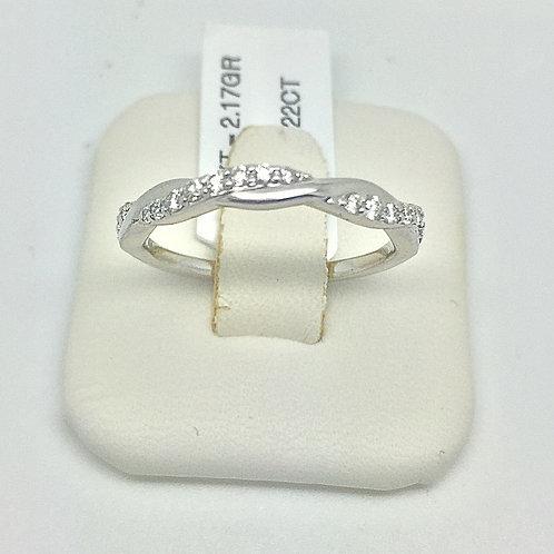 Designer Diamond Infinity Ring