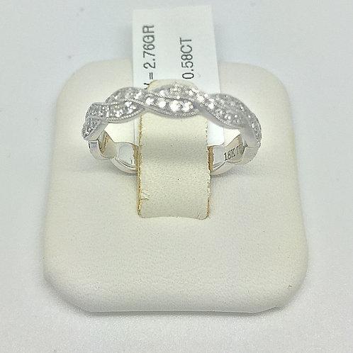 Designer Diamond Eternity Infinity Ring