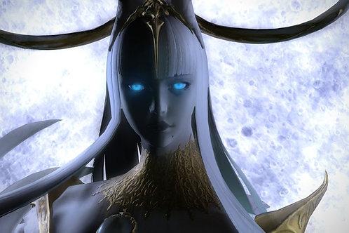 Final Fantasy XIV : Tsukuyomi theme (Lunacy & Wayward Daughter) for piano solo