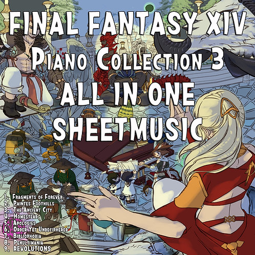 Final Fantasy XIV Piano collection Vol.3 (Arr.by Terry:D)
