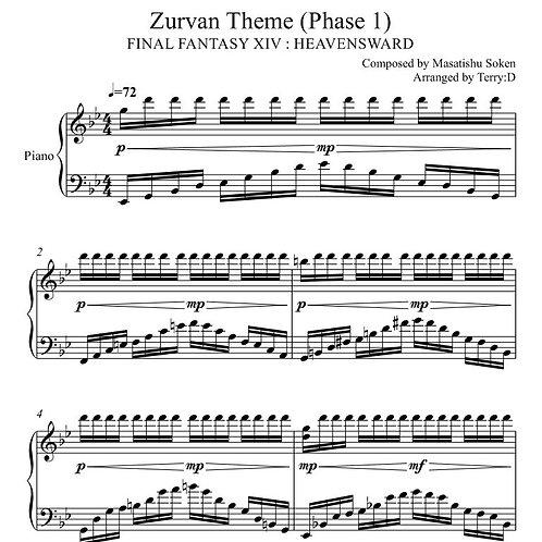 Final Fantasy XIV - Zurvan's Theme phase1 (Arr.by Terry:D)