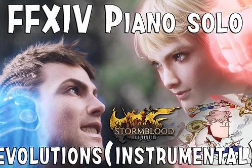 [MP3] FFXIV : STORMBLOOD - REVOLUTIONS (Instrumental)