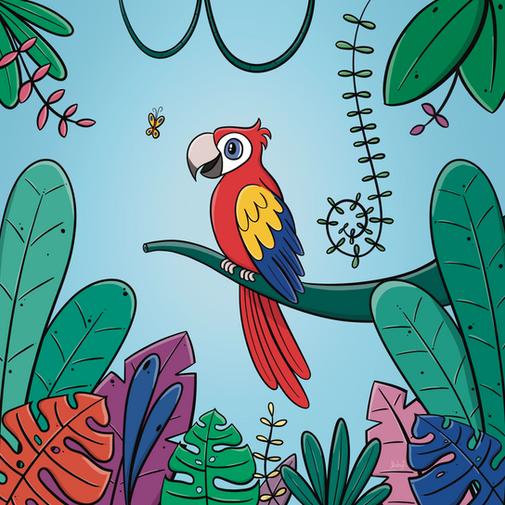 Guacamaya tricolor