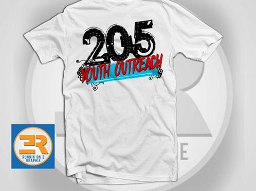 205 Youth Outreach Tee