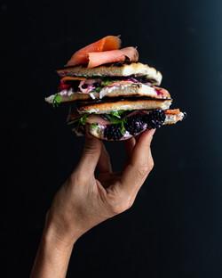 Sandwich Salmone Affumicato