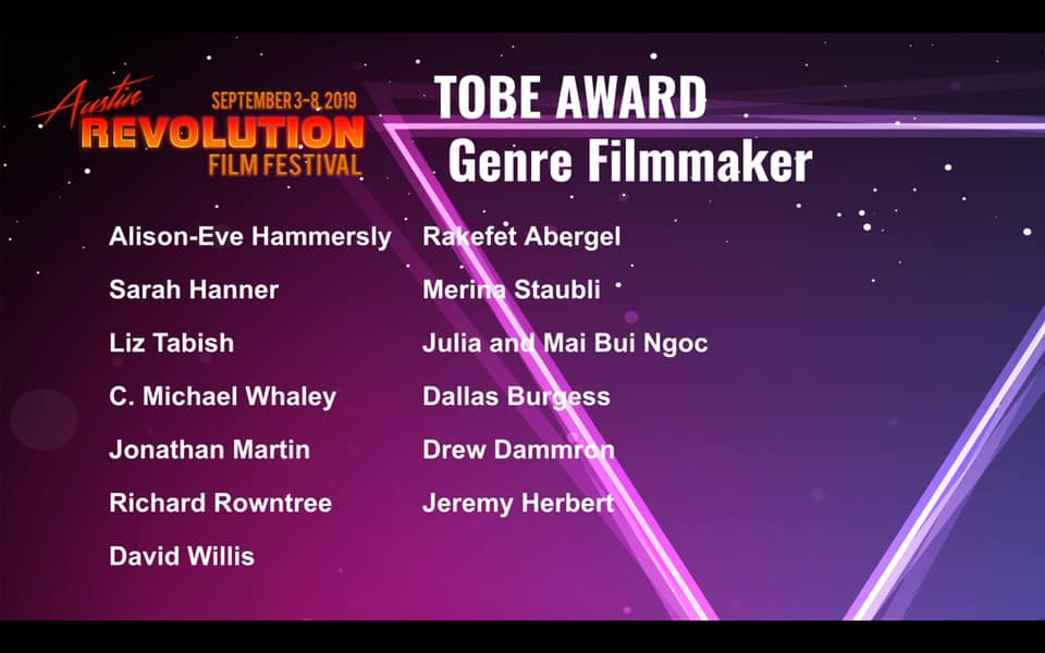 Best Genre Filmmaker