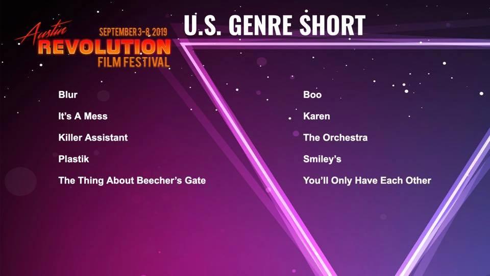 Best U.S. Genre Short