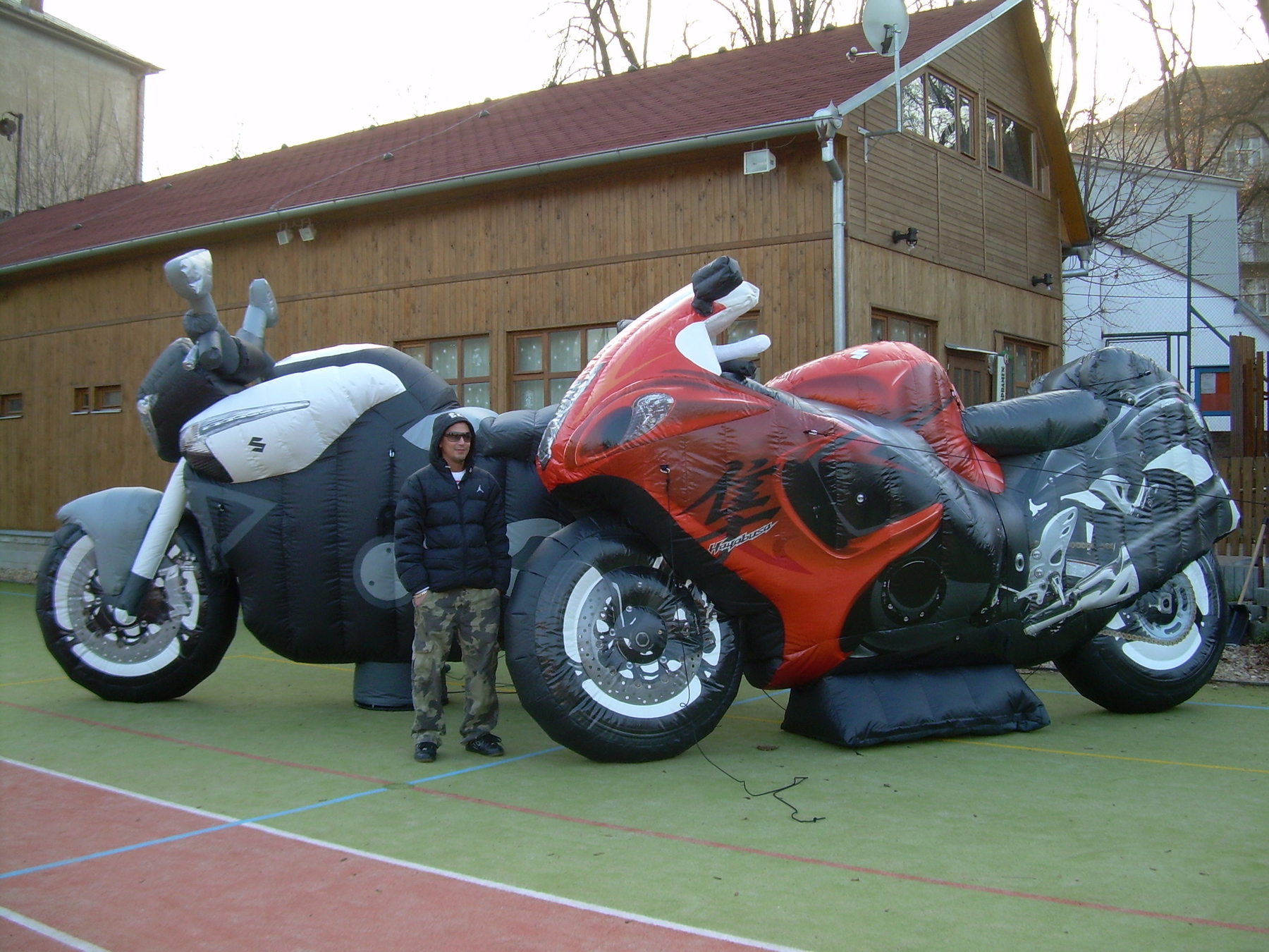 INFLATABLE MOTORCYCLES