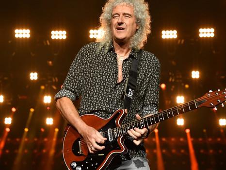 73 años de Brian May