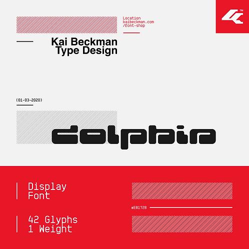 Dolphin Typeface